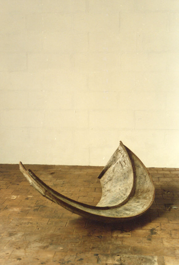 1988-z.t.-aluminiumcement, staal, 120x50x60cm