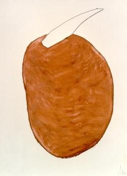 1986-z.t.1-oil-pastel,potlood op papier, 50x65cm