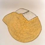 1987-z.t.-oil-pastel, potlood op papier, 50x65 cm