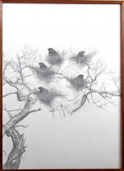 2007-1-zonder titel, grafiet op papier, 110x82cm