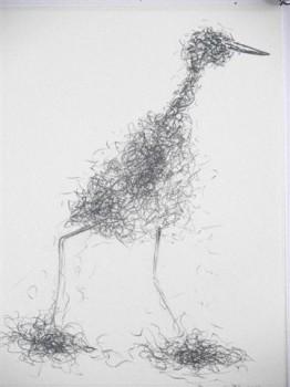 2007-3-zonder titel, grafiet op papier, 26x21cm