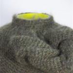 2007-5-zonder titel, glas, wol, 20x16cm-detail
