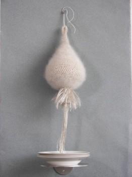 2008-2-Schenken aardewerk, wol, porselein, rvs. 70x30cm