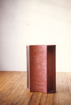 , cement, staal, 28x86x90cm