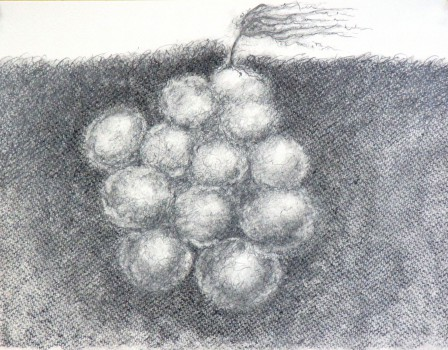 grafiet op papier, 28x36 cm. 2014