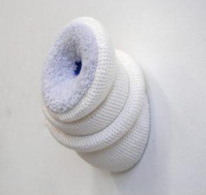 zonder titel, wol, 26x30x40 cm 2018
